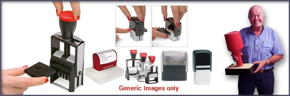 Bettaprint can make any type of Rubber Stamp for your business. Call 1300 STAMPS or 1300 782677.