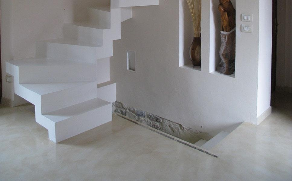 progettazione di pavimenti in resina