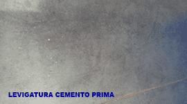 Trattamento cemento