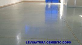 Trattamento pavimento industriale