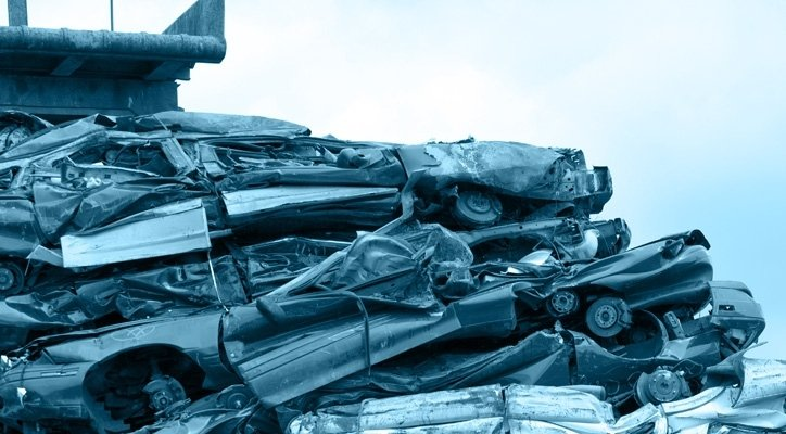 Smaltimento materiali ferrosi