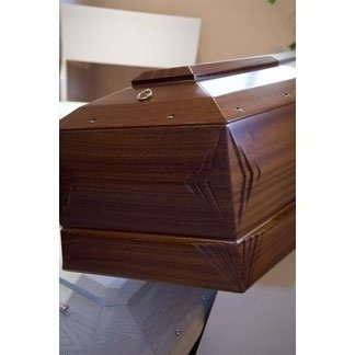 particolare cofano funebre