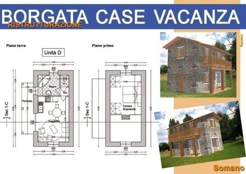 Ristrutturazione di una borgata per case vacanza