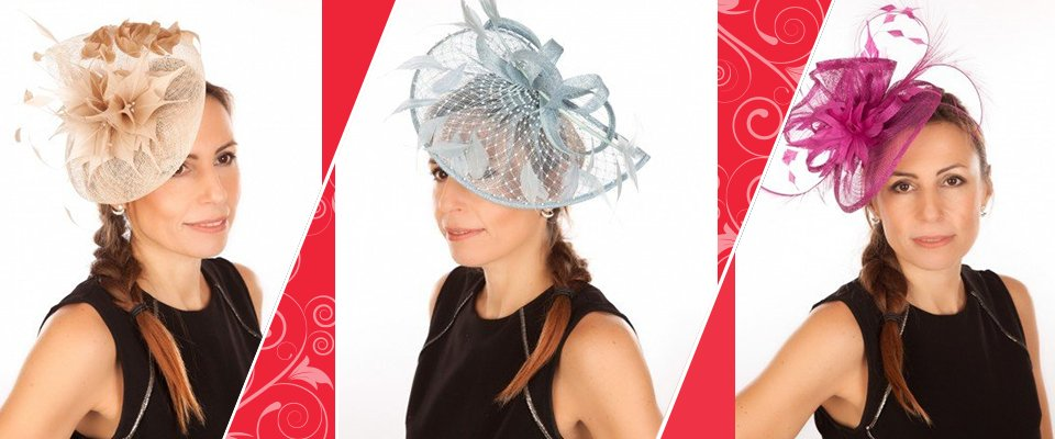 Stunning hats and fascinators