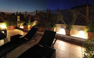 feste in terrazza
