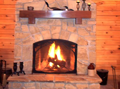 Stone Fireplace Repair Design Amp Installation Portfolio