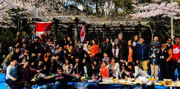 TJCS Hanami Party 2014, Group Photo