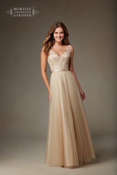 cream maxi dress