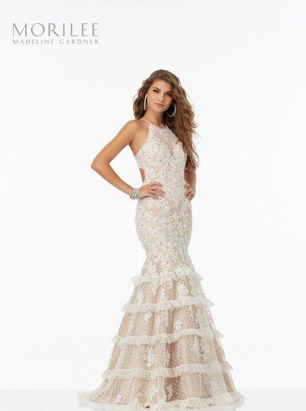frills bottom dress