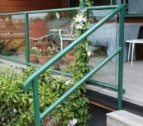 Metal fabrication and installation of handrails
