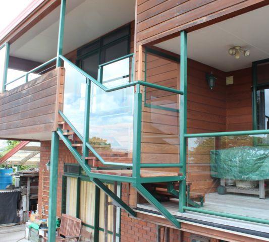 External stair