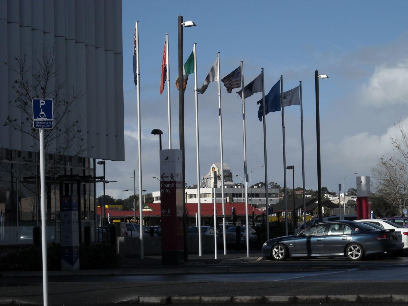 8m flagpoles