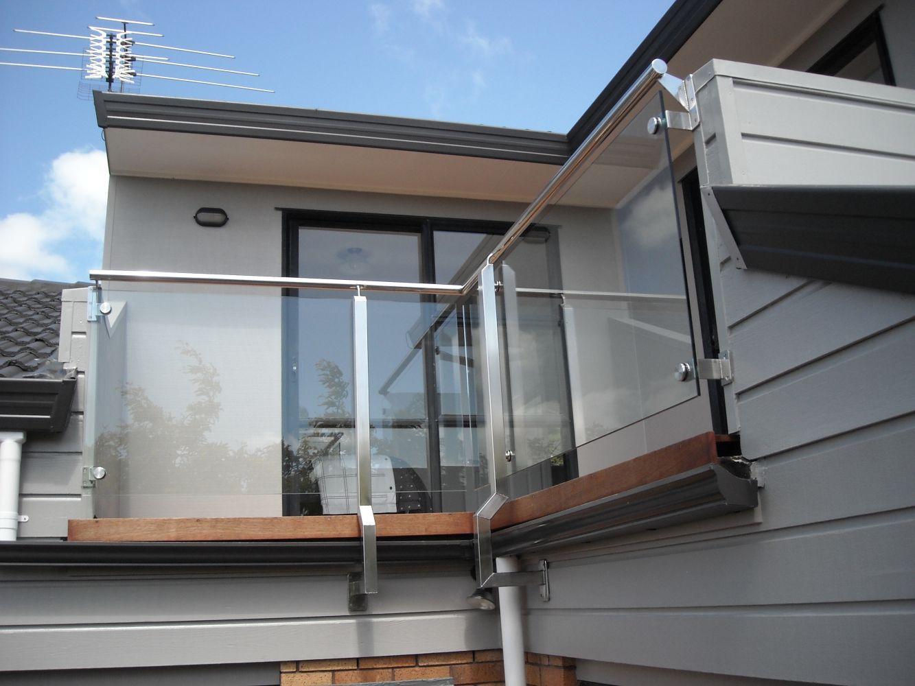 Design,build, installed glass balustrade