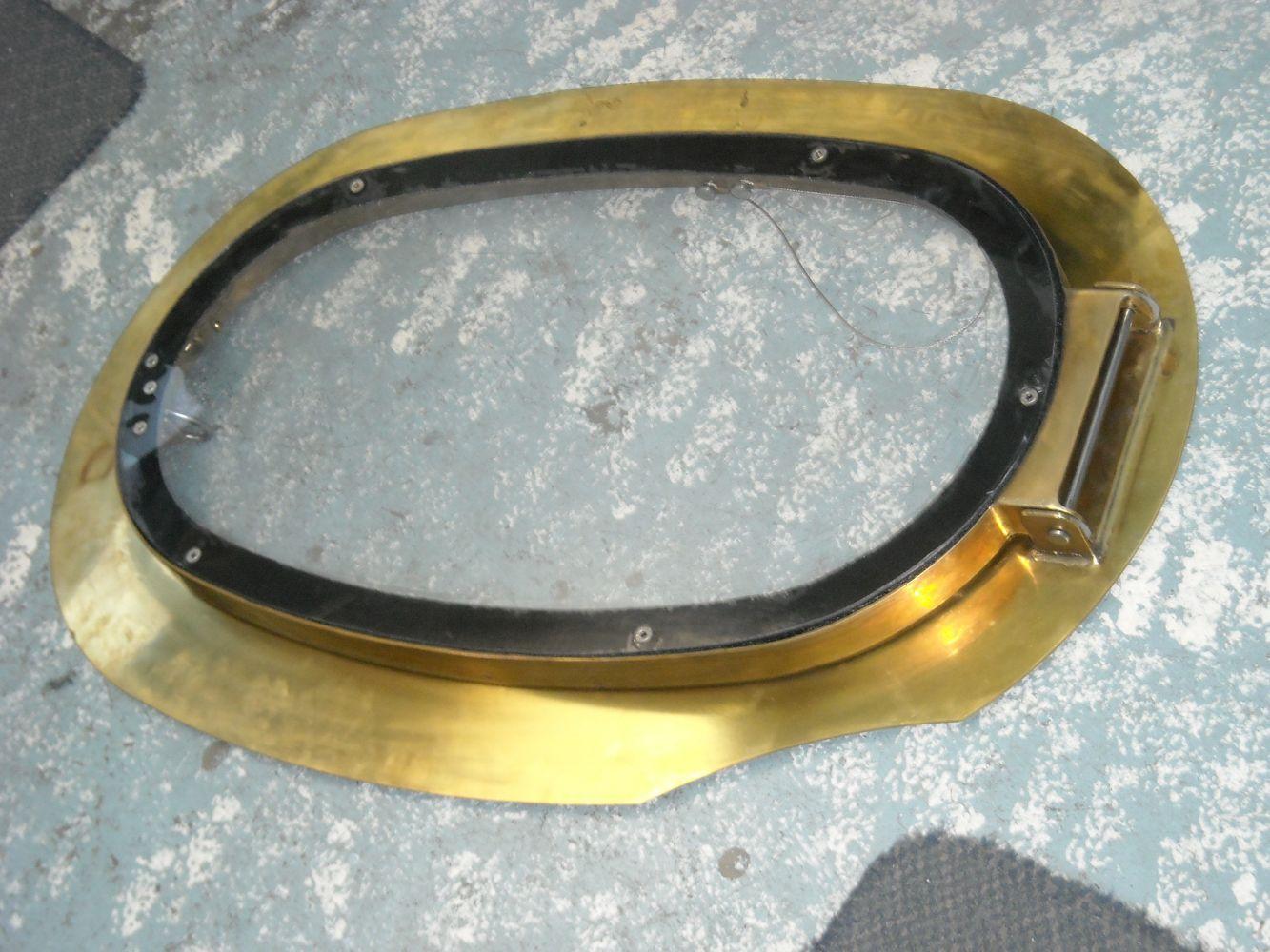 Brass hatch