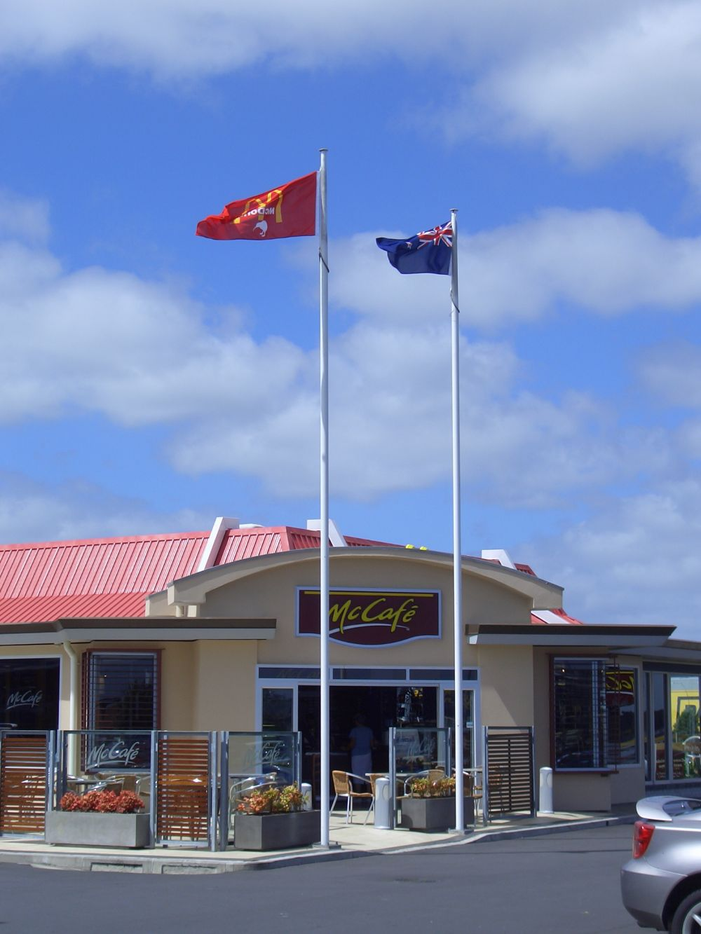 McDonald's Flagpoles