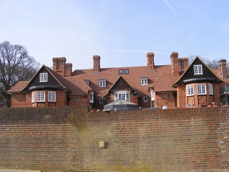 Re-roof:  heritage clay plain tiles – Hampstead