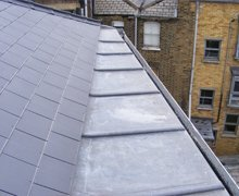Re-roof:  natural slate and lead sheet – Hackney