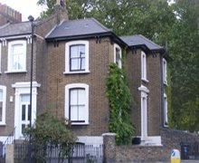 Re-roof:  natural Spanish slate – Hackney