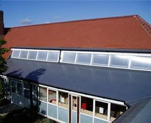 Re-roof:  clay plain tiles and Sika liquid plastic membrane – Dagenham