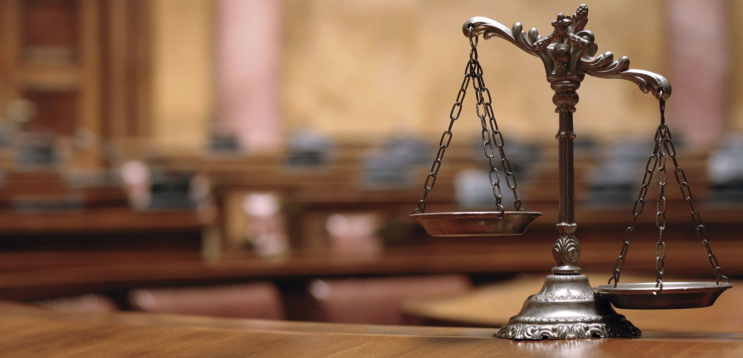 scales of justice as symbol of lawyers in Kailua, HI
