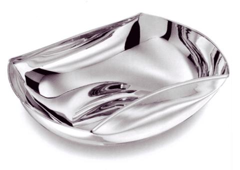vassoio, argento, viterbo