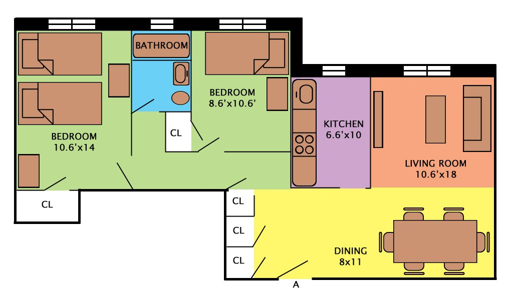 Floor Plans Fairbridge Commons Fairfield Ct