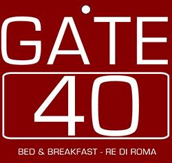 Gate 40 - Logo