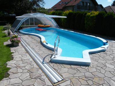 zabudowa, basenów, zadaszenie