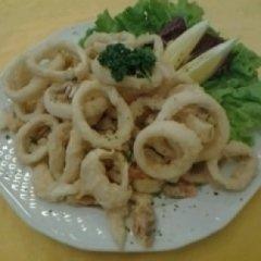 fritto di pesce, fritto di mare, calamari fritti