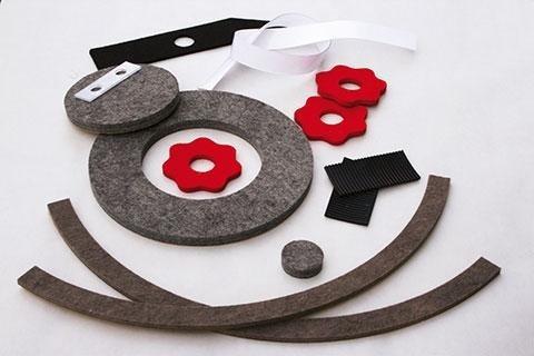 custom felts