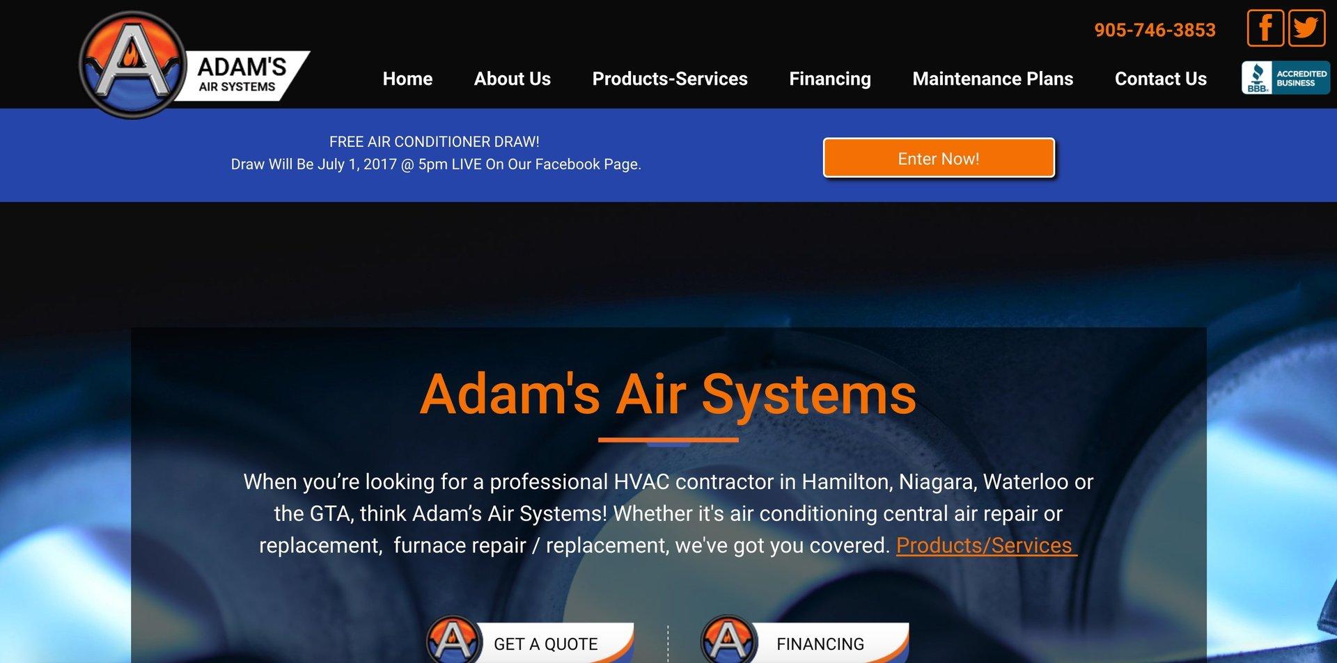 Adam's Air Systems