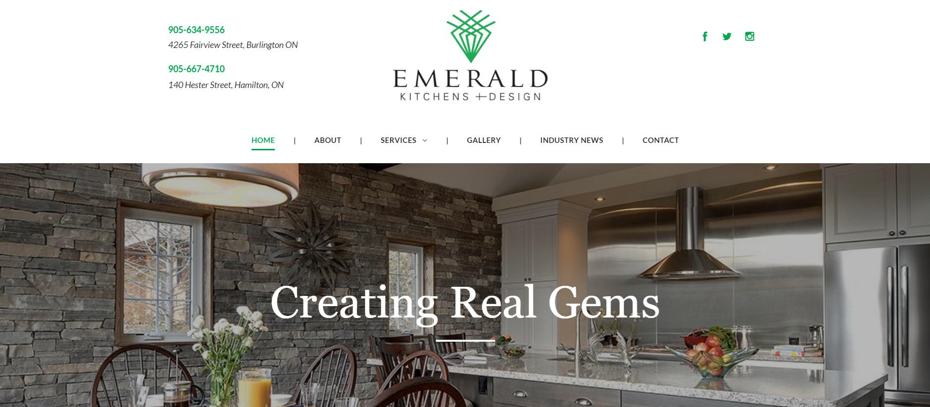 Emerald Kitchens And Design Inc Hamilton On