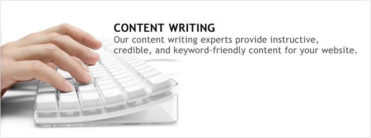Website content services