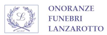 ONORANZE FUNEBRI LANZAROTTO - LOGO
