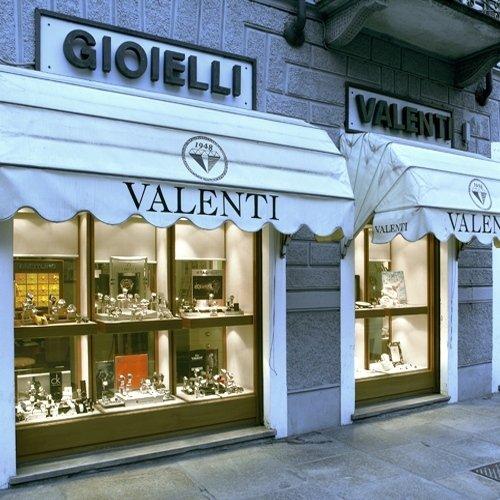 Esterno gioielleria Valenti