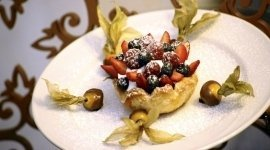 dolce, dessert, frutta fresca