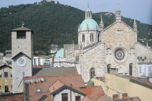 Panorama del Duomo di Como