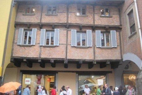 Case medioevali a Piazza San Fedele