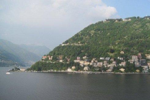 Scorcio panoramico sul lago