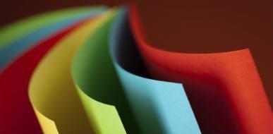 Ingrosso carta da lettere colorata