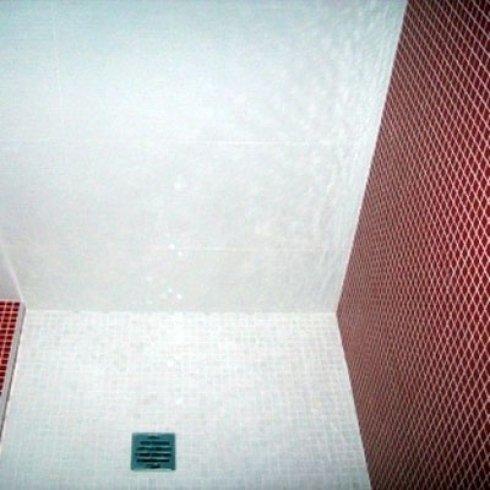 piatto doccia a mosaico