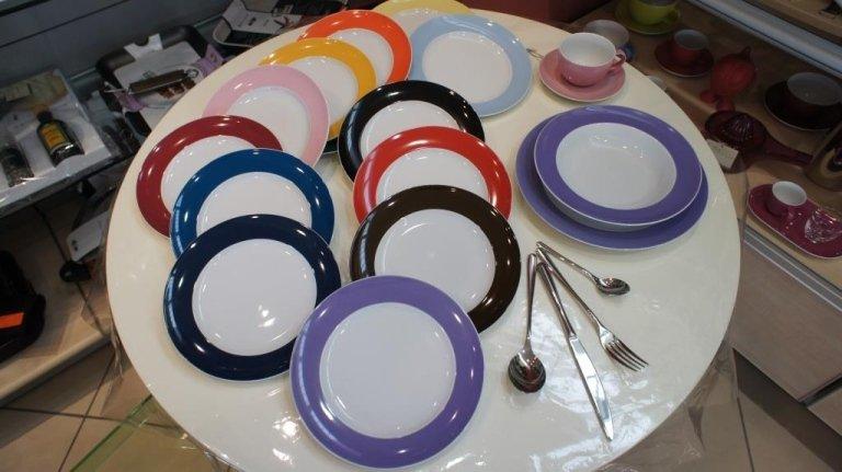 Set di piatti in ceramica Rimini