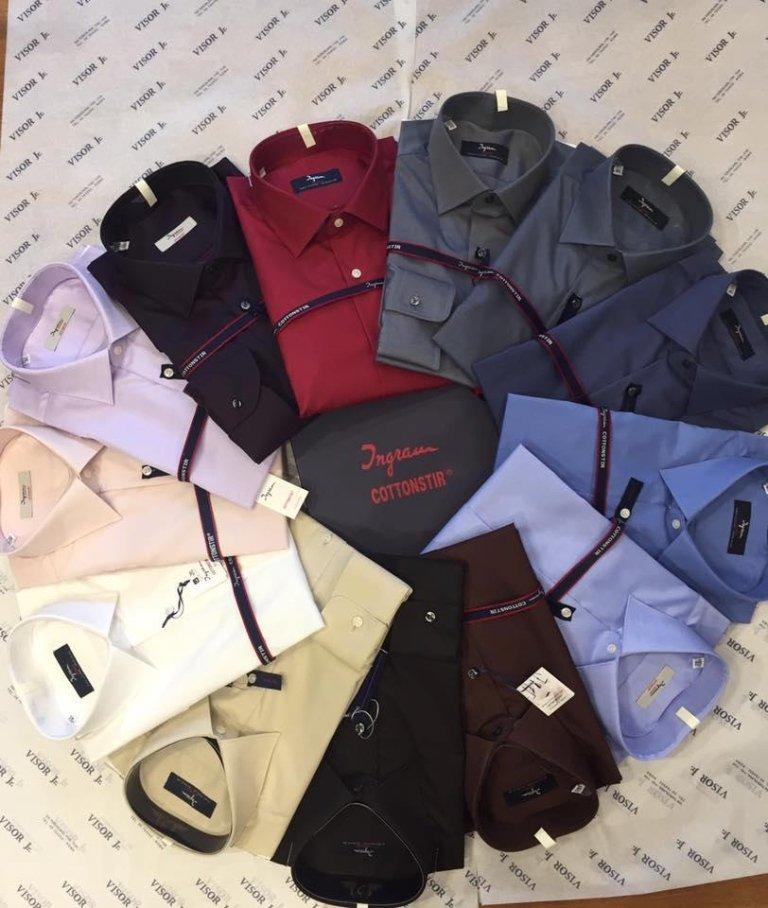 camicie di vari colori