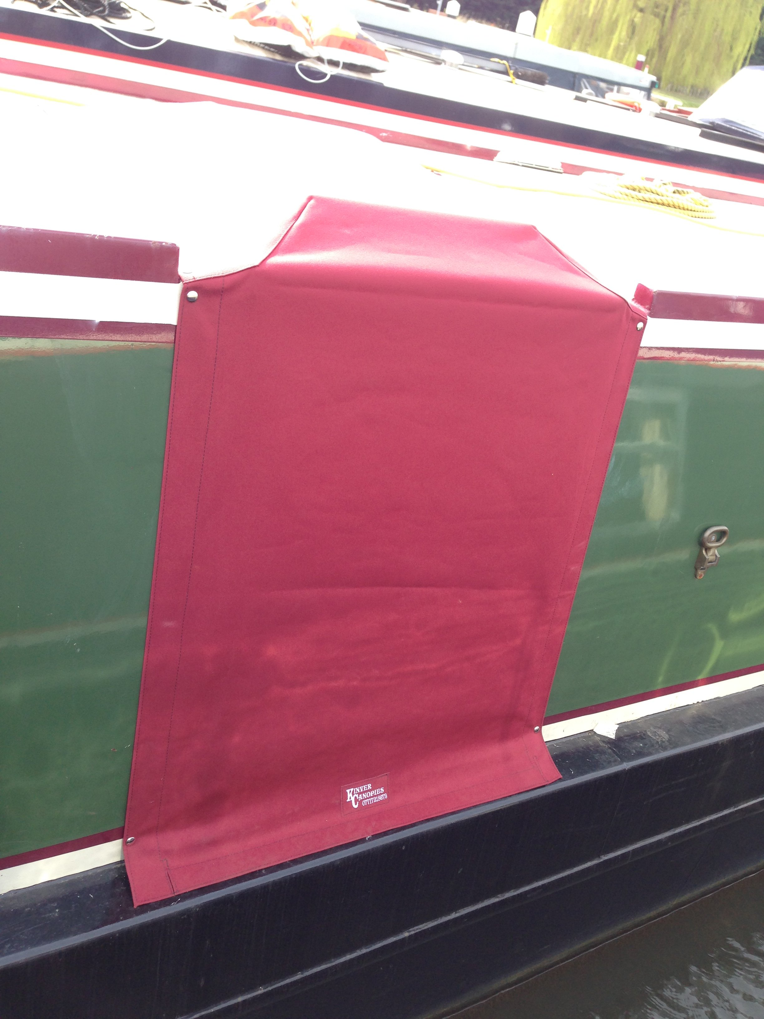 Narrowboat hatch and door cover