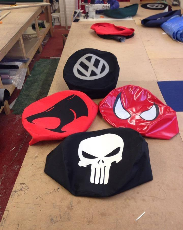 Custom VW wheel covers