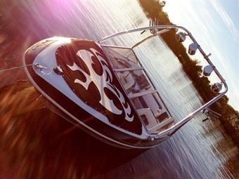 Bespoke boat art