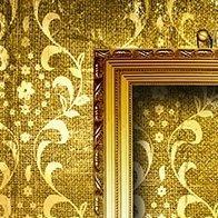 cornice dorata