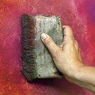 spazzola da muro