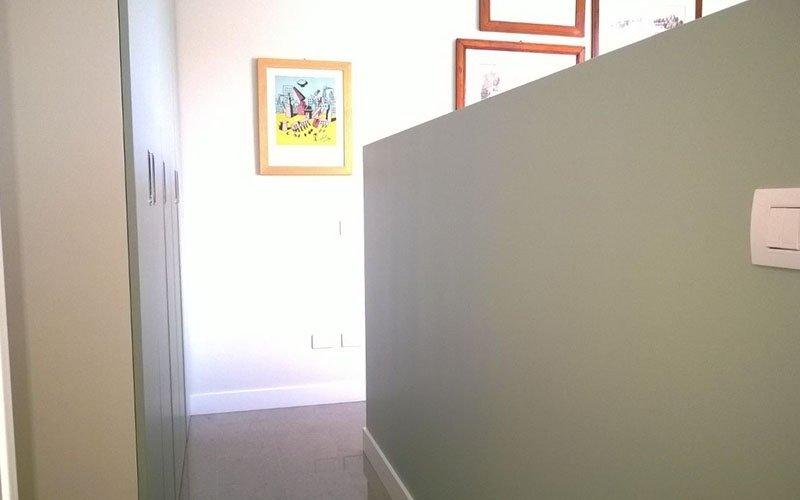 imbiancatura di un corridoio
