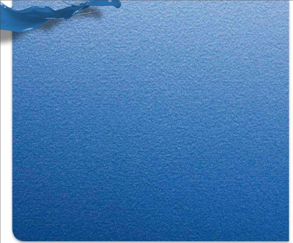 verniciatura blu mare